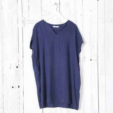 Sole Braid Sleeve Tunic