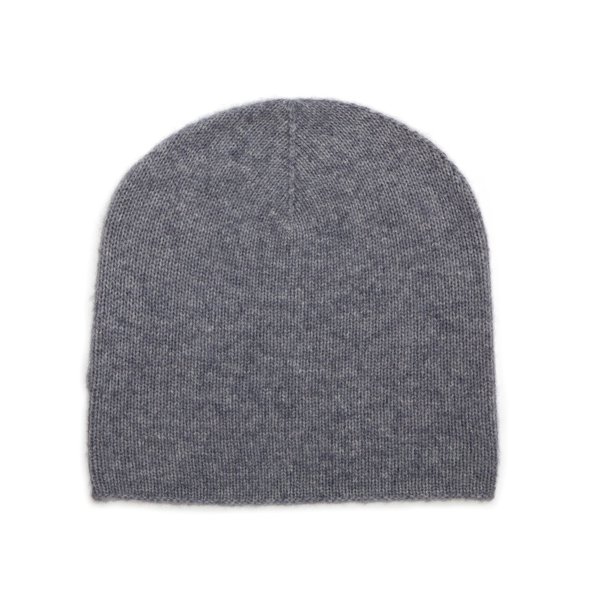 Somerville Scarves Cashmere Beanie Hat in Pale Grey  570379cea93