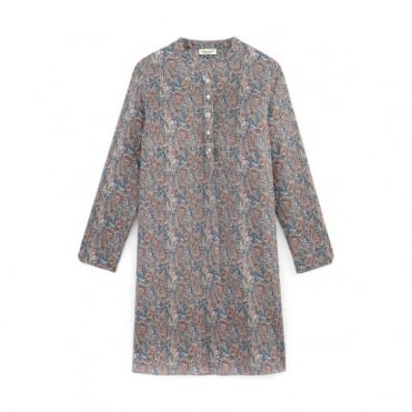Hiura Liberty Printed Dress