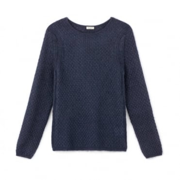 Idol Mohair/Cotton/Silk Long Sleeve Sweater
