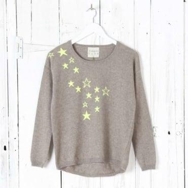 Spatter Stars Jumper