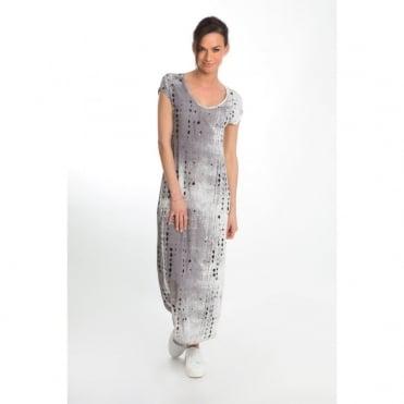 Splash Print Maxi Dress