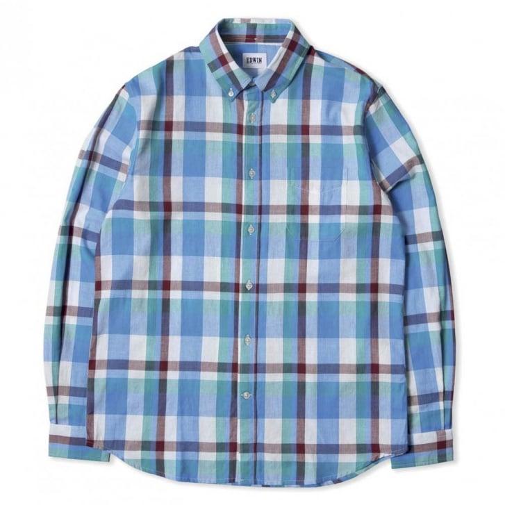 EDWIN Standard Herringbone Check Shirt