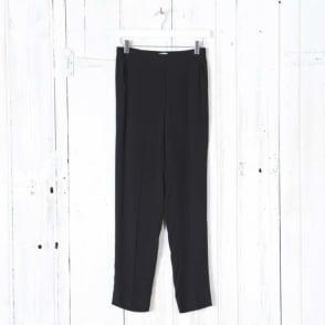 Charlotte Elasticated Trousers in Black