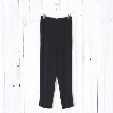 Charlotte Elasticated Trousers in Black