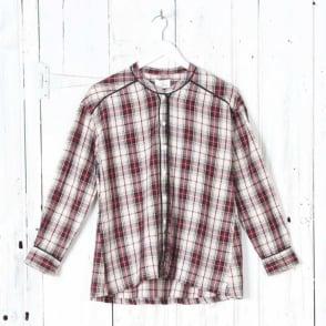 Effy Check Shirt in Red