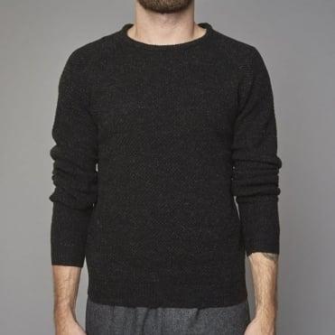Crew Neck Knit in Black