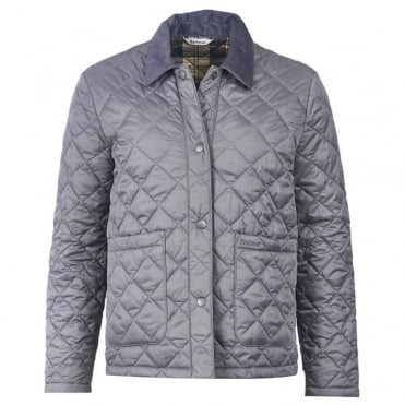 Summer Cropped Quilted Border Jacket