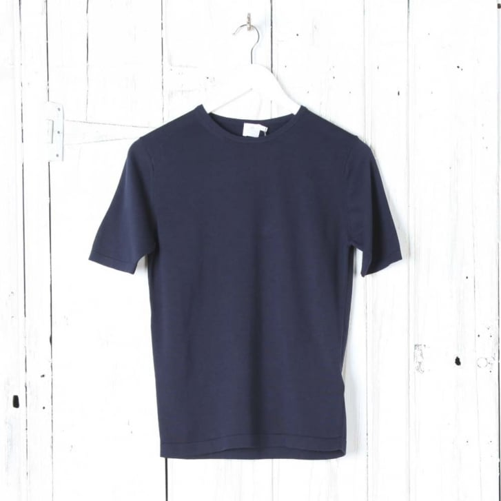 SUNSPEL Sea Island Short Sleeve Crew