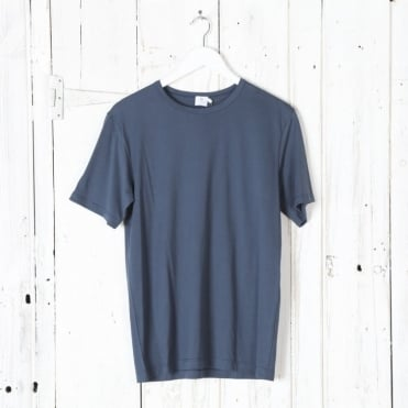 Short Sleeve Crew Neck Top