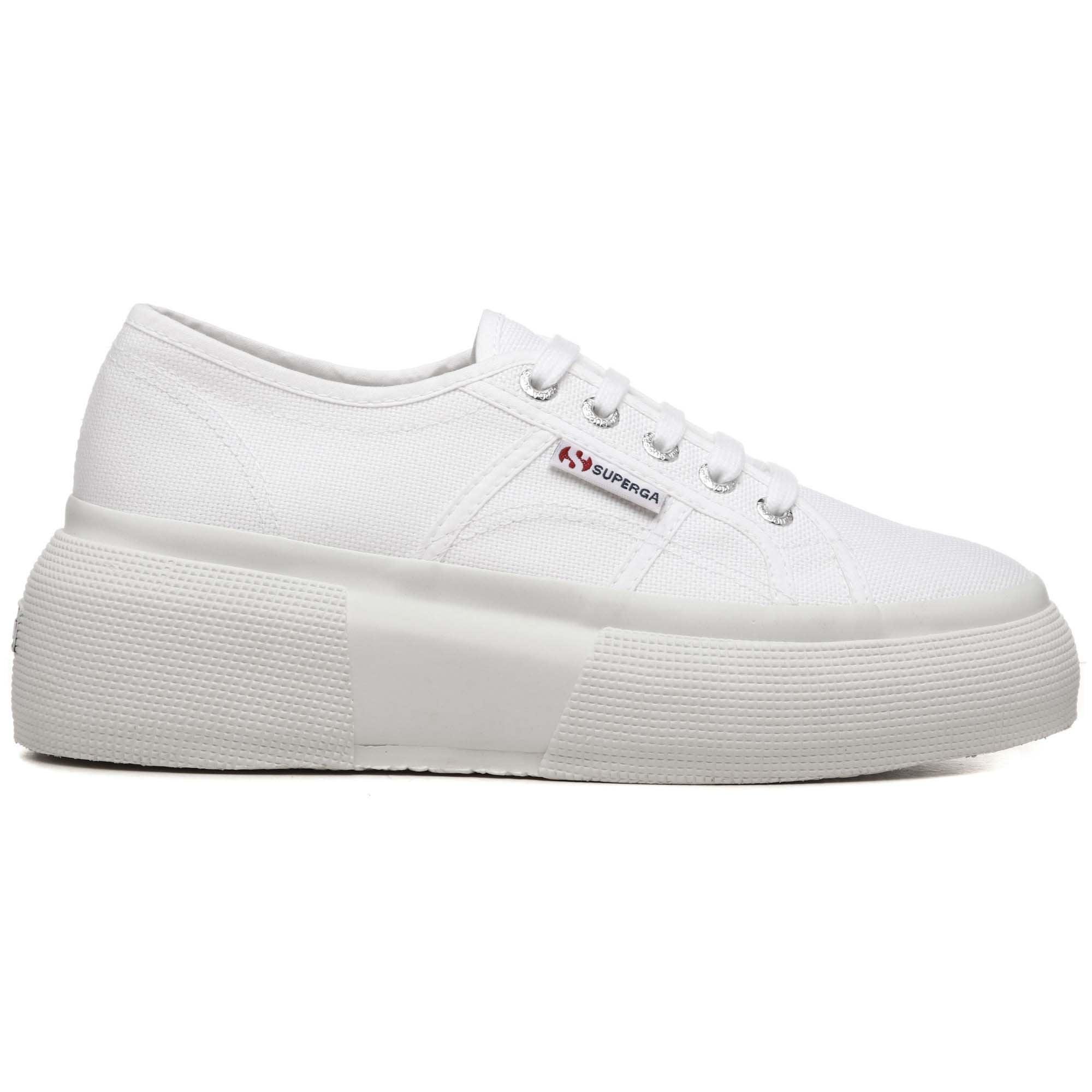 6af68ae0793068 2287 Bumper Sneaker in White   Collen & Clare