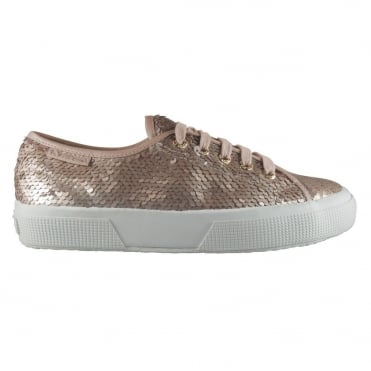 2750 Cotu Sequinned Classic Sneaker in Rose Gold
