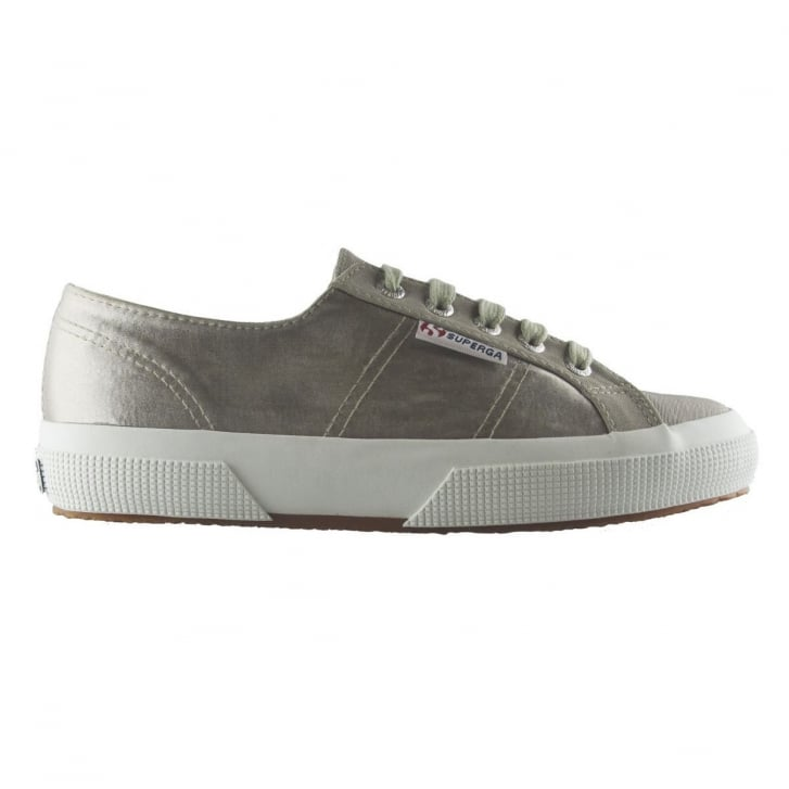 SUPERGA 2750 Satin Backed Classic Sneaker in Beige