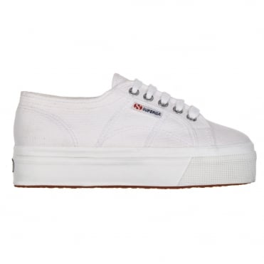 2790 ACOTW Canvas Flatform in White