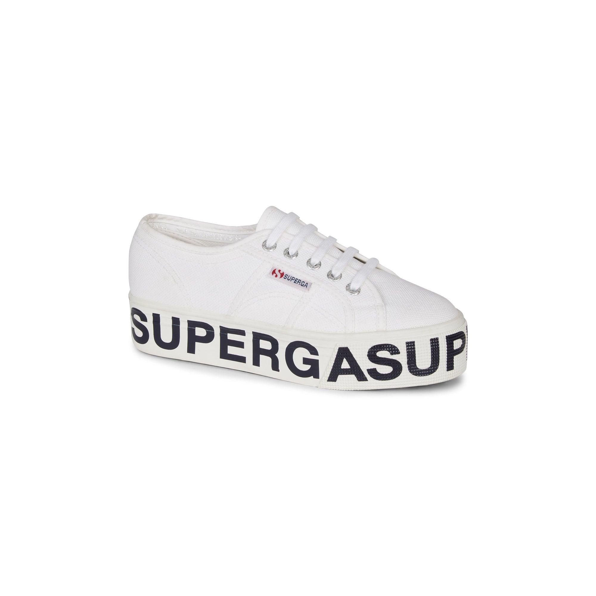 2790 Logo Flatform Sneakers in White