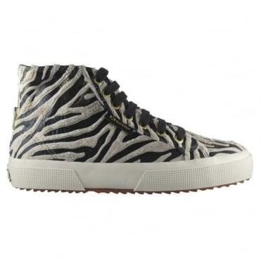 2795 FABRICSYNZEBRAW Sneaker in Beige Bronze