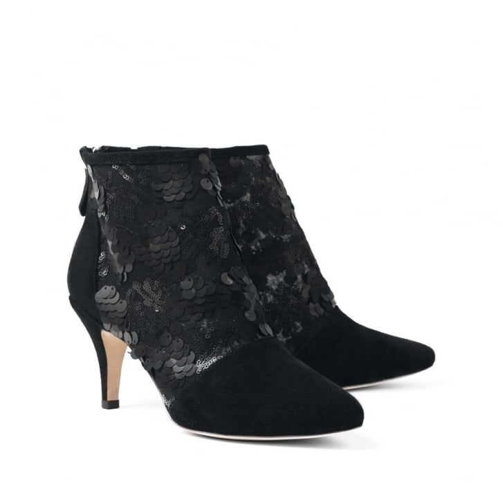 SARGOSSA Tangle Suede Heeled Boot
