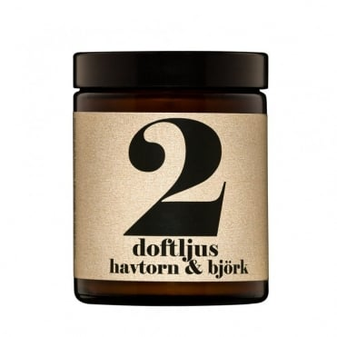 No.2 Hawthorn & Birch Candle