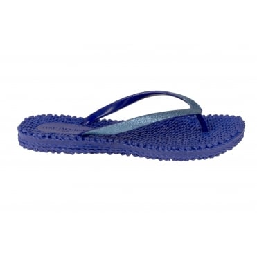 The Ilse Jacobsen Flip Flop in Cobalt