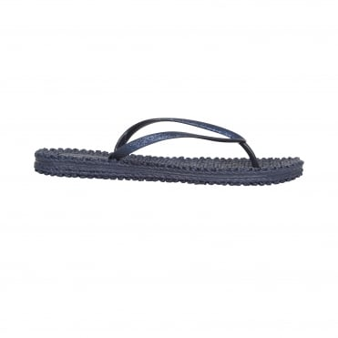 The Ilse Jacobsen Flip Flop in Indigo