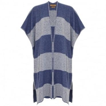 The Long Stripe Knit Kimono