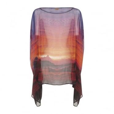 The Sunset Silk Pop On Top