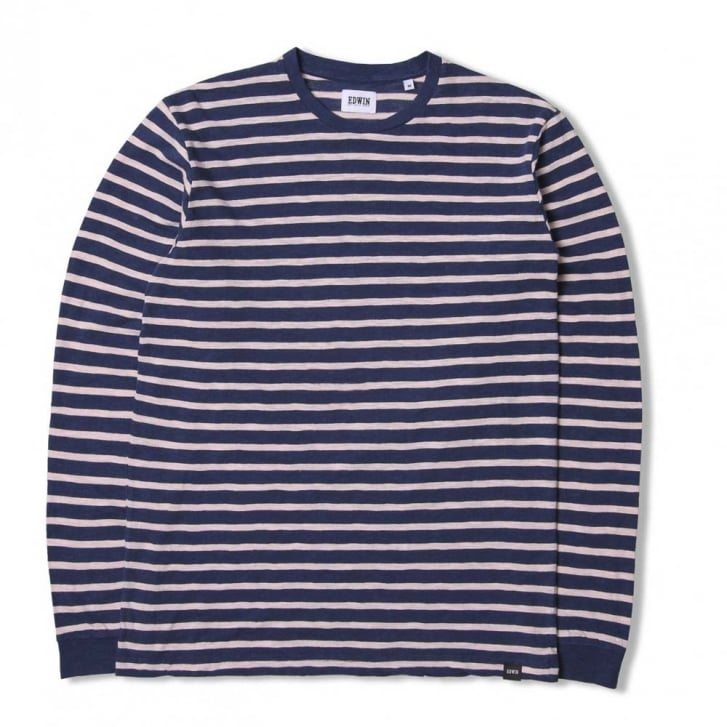EDWIN Tokyo Blues Open Jersey Long Sleeve T Shirt