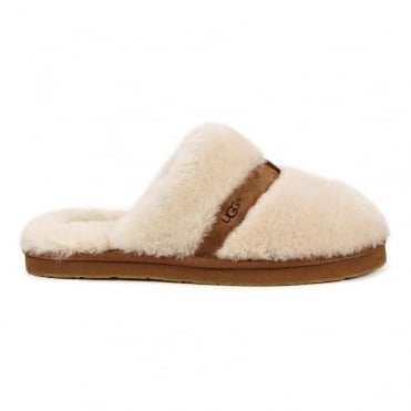 Dalla Slippers in Natural
