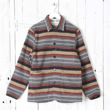 Bakers Chore Jacket in Blanket Stripe