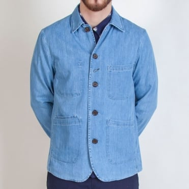 Bakers Summer Denim Jacket in Indigo