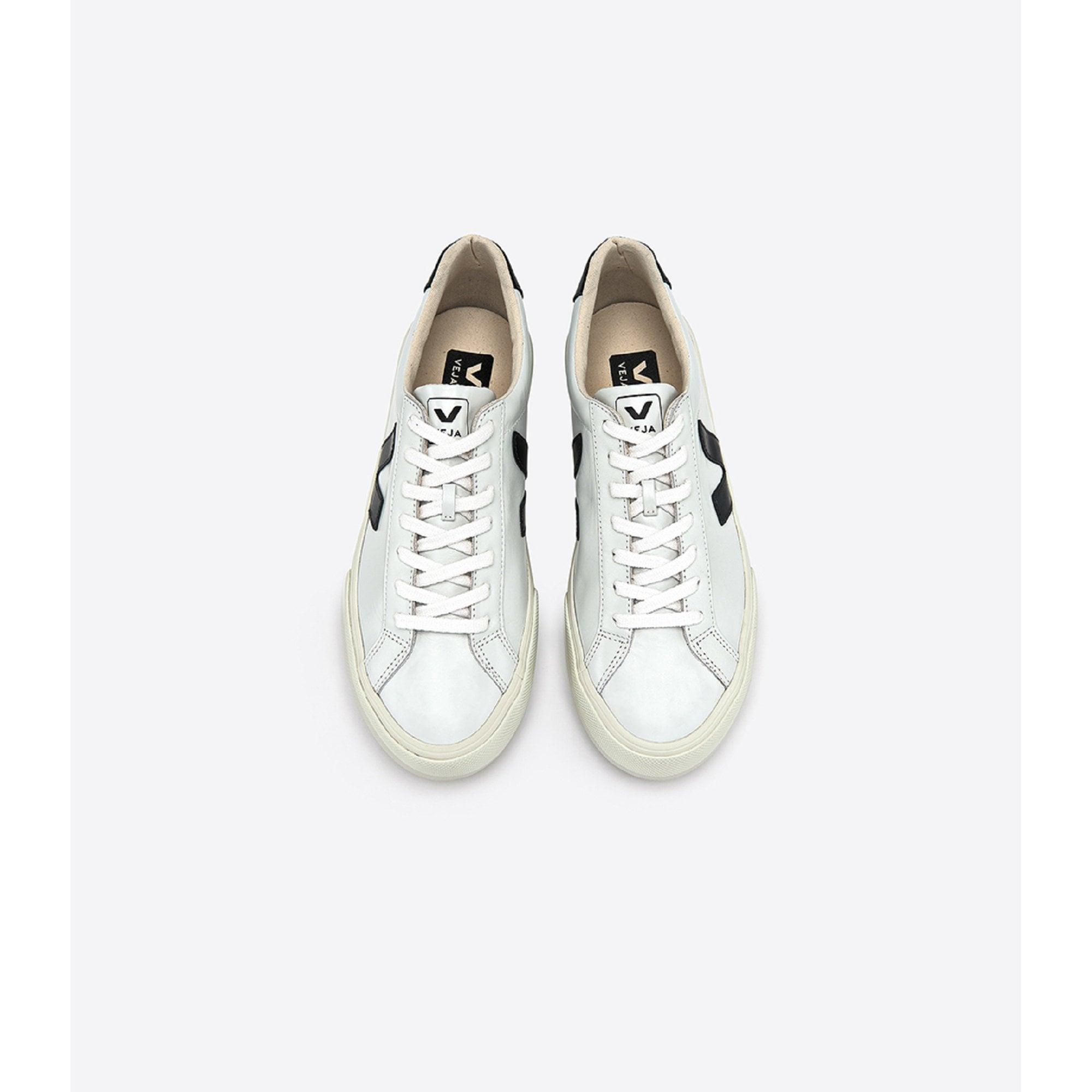 e279c86f7c Veja Esplar Leather Extra White Black Sneaker