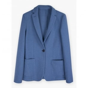 Harlow Jacket in Lotus Blue