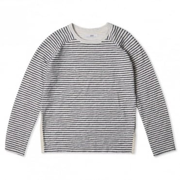 W Ferry Sweat Linked Striped Jersey