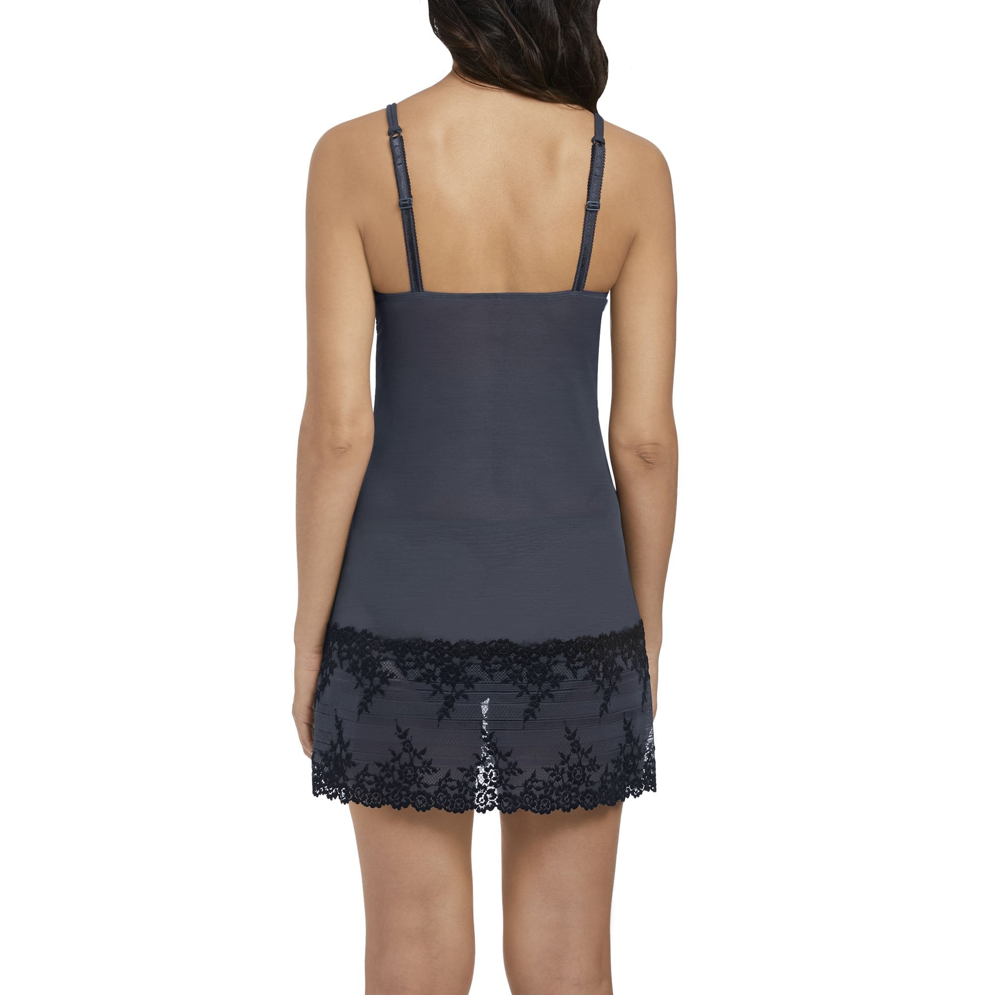 b45b7fd0f Wacoal Embrace Lace Chemise In Folkstone Grey | Collen & Clare