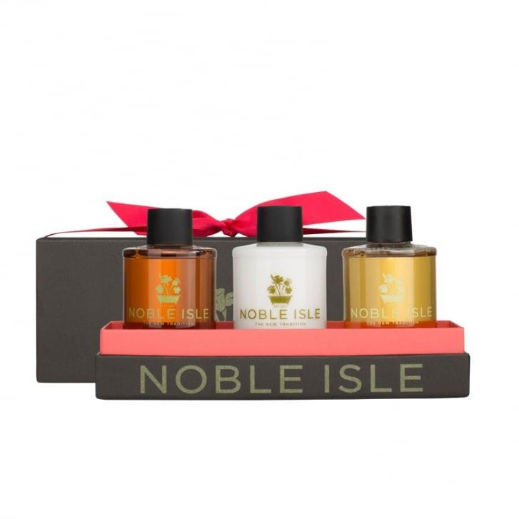 NOBLE ISLE Warm & Woody Trio Gift Set