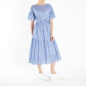 cc27e4e6df0 Adorno Dress with Slip in Cornflower Blue. WEEKEND MAXMARA ...