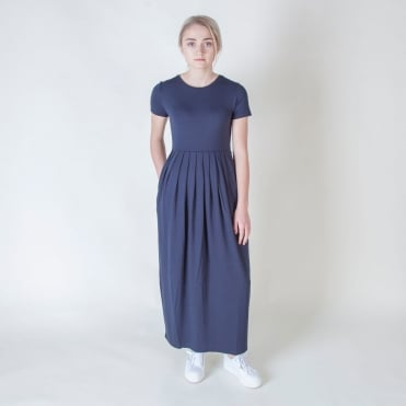 Rivalta Jersey Dress in Ultramarine