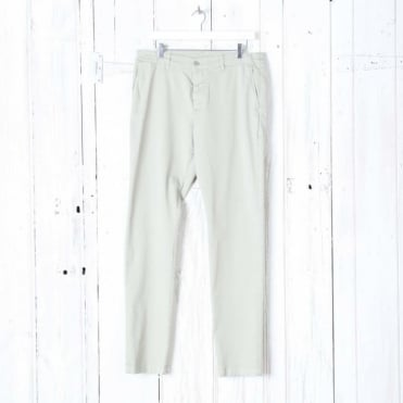 Tapered Twill Cotton Trouser