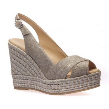 Cristina High Wedge Espadrille